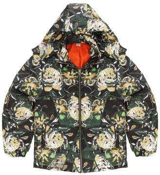 Flowers Hunter Floral Puff Jacket
