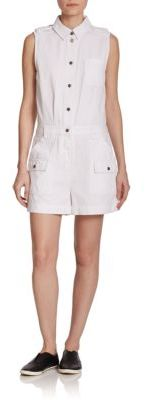Marc by Marc Jacobs Greenwich Sleeveless Short Jumpsuit $358 thestylecure.com
