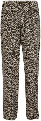 Michael Kors Giraffe Print Trousers