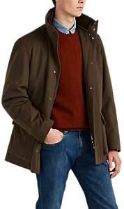 Loro Piana Men's Winter Voyager Cashmere Melton Coat - Intense Brown
