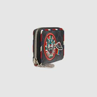 Gucci Night Courrier GG Supreme card case
