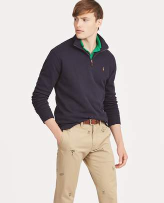 Ralph Lauren Estate-Rib Cotton Pullover