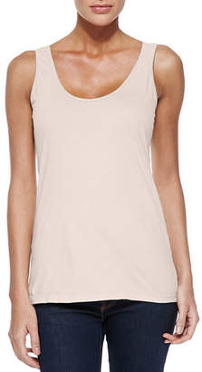 Johnny Was Scoop-Neck Cotton Tank, Petite