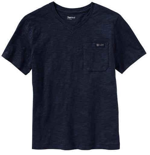 Gap V-neck pocket T