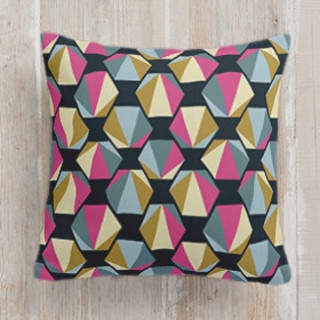 Origami Hex Self-Launch Square Pillows