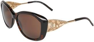 Burberry Women's BE4208Q-300273-57 Square Sunglasses