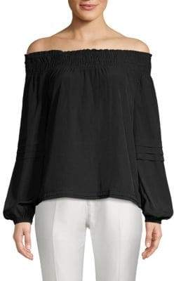 Ramy Brook Aggie Off-the-Shoulder Top