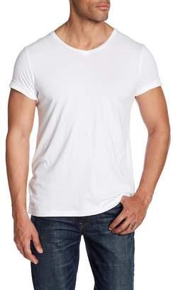 Frame V-Neck Short Sleeve Shirt