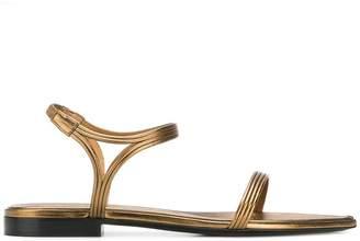 Saint Laurent flat strappy sandals