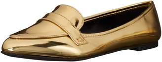 Qupid Women's Swirl-61 Slip-on Loafer