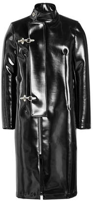 Raf Simons Faux Leather Coat