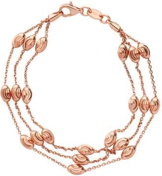 Links of London Beaded 2 Row Chain Bracelet