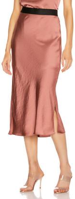 Smythe Bias Cut Slip Skirt in Copper   FWRD