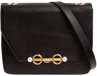 Coliac Small Adelaide Leather Shoulder Bag