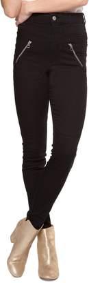 Dex Exposed Zip Skinny Jeans
