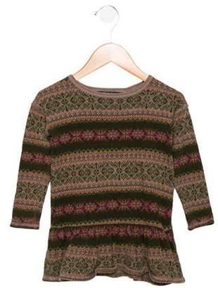 Polo Ralph Lauren Girls' Long Sleeve Knit Dress