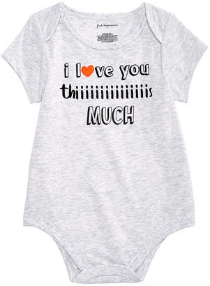 First Impressions Baby Boys & Girls Love You Bodysuit, Created for Macy's