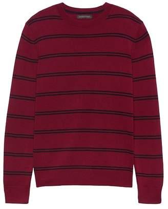 Banana Republic Italian Merino Stripe Sweater