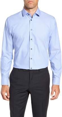 Calibrate Trim Fit Stretch Solid Dress Shirt