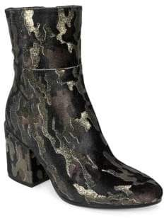 White Mountain Summit By Shaw SI0485 Textured Fabric Booties