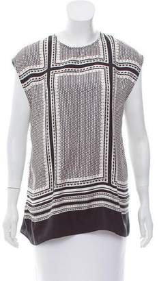 Rachel Zoe Sleeveless Silk Top