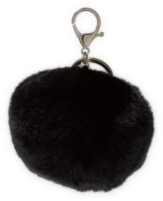 Adrienne Landau Pompom Key Ring