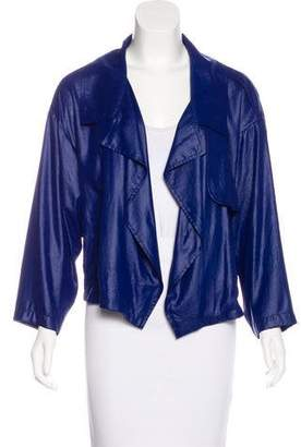 Barbara Bui Lightweight Open-Front Jacket