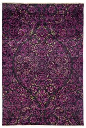 """Solo Rugs Suzani Collection Oriental Rug, 6' x 8'10"""""""