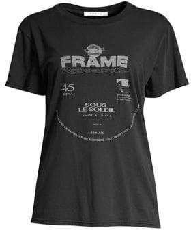 Frame Faded Cotton Graphic Tee