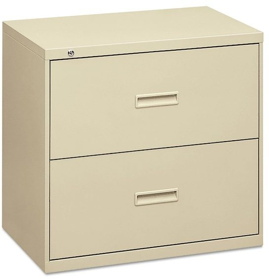 HON 400 Series Putty 30 x 19 1/4 x 28 3/8 2-drawer Lateral File