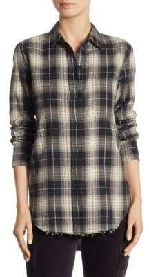 Vince Oversized Cotton Button-Down Shirt
