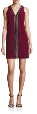 Laundry by Shelli Segal Beaded Shift Dress $195 thestylecure.com