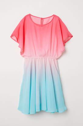 H&M Chiffon Dress - Turquoise