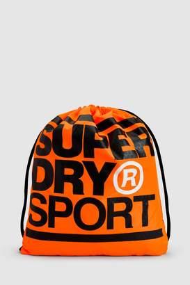 Next Superdry Grey Drawstring Sports Bag