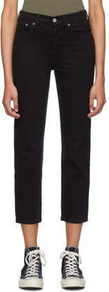 Levi's Levis Black Wedgie Straight Jeans