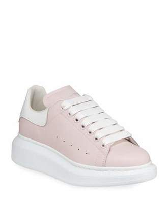 Alexander McQueen Colorblock Leather Sneakers