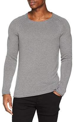 Jack and Jones Men's Jprharte Knit Crew Neck Jumper
