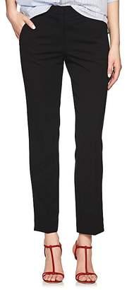 Derek Lam Women's Drake Crepe Slim Ankle Pants