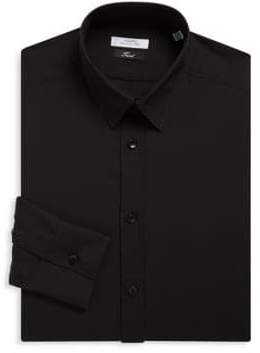 Versace Cotton Twill Dress Shirt