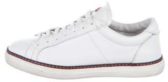 Moncler Leather Low-Top Sneakers