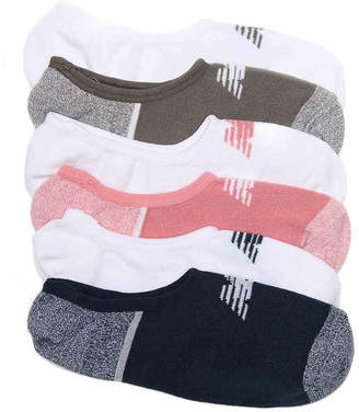 New Balance Lifestyle Ultra Low No Show Socks - 6 Pack - Women's