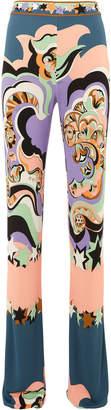 Emilio Pucci Printed Flare Trousers