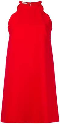 Miu Miu scalloped edge dress