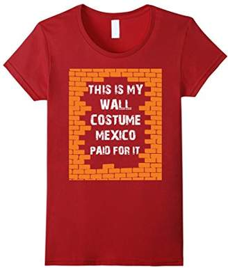 Build The Wall Mexico Halloween Costume Shirt