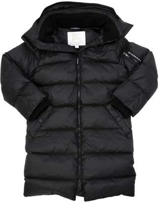 Burberry Oversize Nylon Down Jacket
