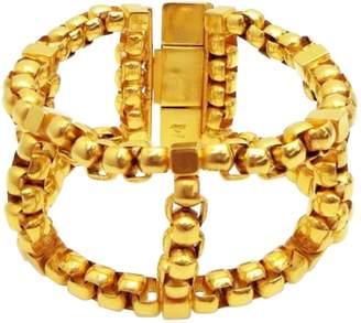 Prada Gold Metal Bracelets