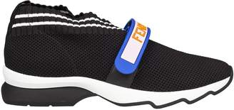 Fendi Knitted Strap Sneakers