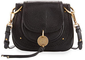 See by Chloe Small Leather Flap Saddle Bag, Camel $395 thestylecure.com