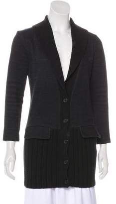 Barneys New York Barney's New York Long Sleeve Knit Cardigan