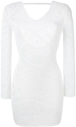 La Perla embroidered dress $798.96 thestylecure.com